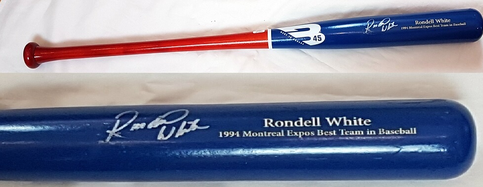 Rondell White Bat Red-Bleu